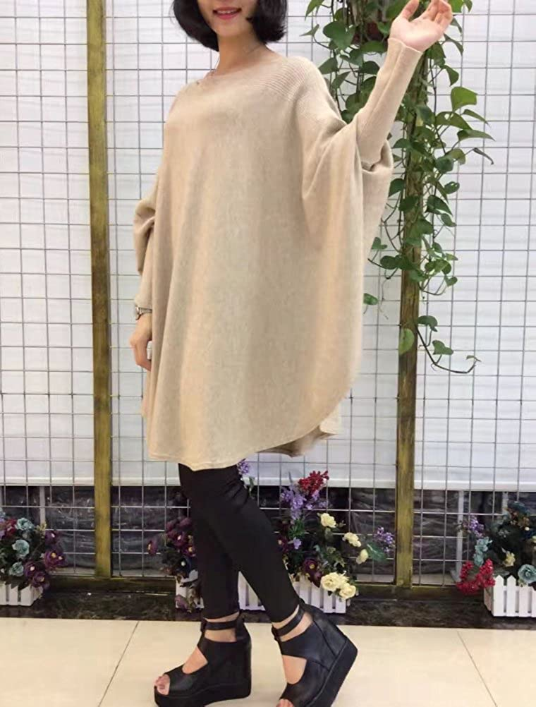 Mallimoda Mujer Primavera//Ronda de Oto/ño del Palo del Cuello De La Manga Top