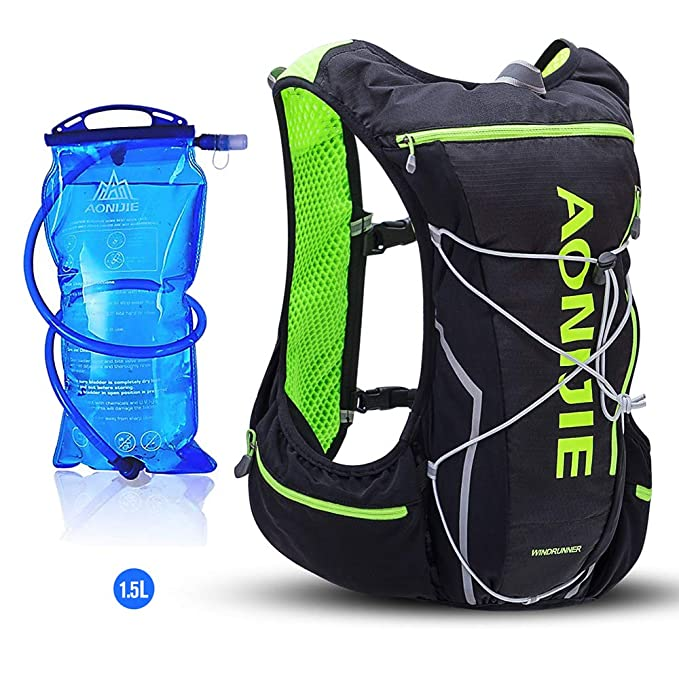 Amazon.com : AONIJIE 10L Lightweight Waterproof Cross-Country Backpack Running Backpack Marathon Cycling Bags Running Vest Kettle Sport Bag : Sports & ...