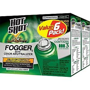 Hot Shot Fogger6 With Odor Neutralizer (HG-26180) (2 Pack) (3 - 2 oz)