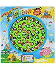 Run Fung Fishing Game 45 Fishes 5 Players For Kids - Unisex, Multi Color