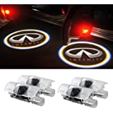 Moonet 4 x Door LED Courtesy Shadow Ghost Welcome Lamp Projector Light for Infiniti Ex Fx G M Series Q50 Q70 Q60 Q70…