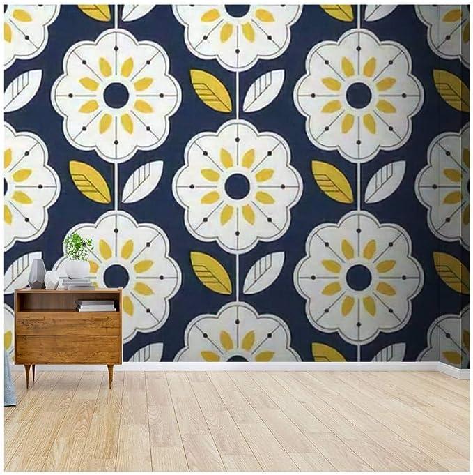 A079 Scandinavian Wallpaper Wall Paper Removable Herbal Peel /& Stick Wallpaper Wallpaper Herb Pattern Wall Mural Temporary Wallpaper