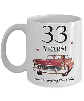 33th Wedding Anniversary Gift Mug For Him