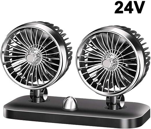 SHEWT Ventilador eléctrico del Carro 12V / 24V Ventilador ...
