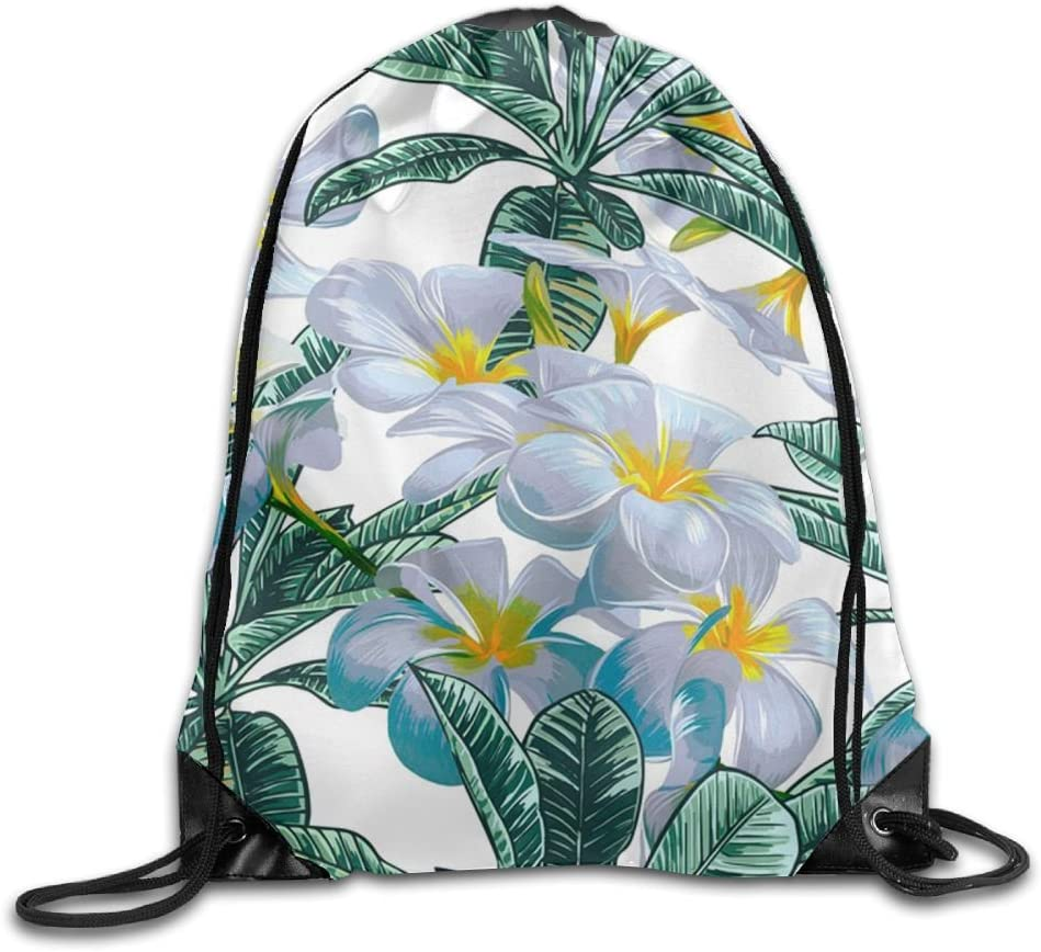 VIMUCIS Lily Art Drawstring Backpack Rucksack Shoulder Bags Training Gym Sack For Man And Women