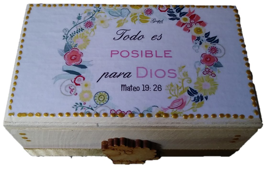 Amazon.com: Gospel Gift Promise Box 60 Daily Scripture Bilingual Card - Caja de Promesas 60 tarjetas Bilingues Prayer Cards: Home & Kitchen