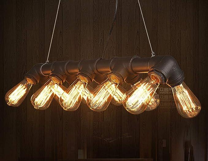 Retro colgante vintage lámpara de techo E27 industriales ...
