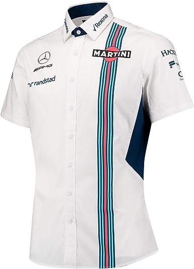 Williams Martini Racing Men s Team manga corta camiseta, multi color, extra-small: Amazon.es: Deportes y aire libre