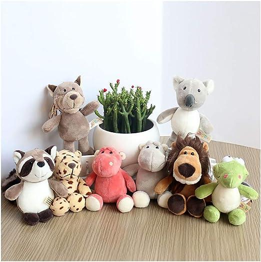 Peluches 8 Pack de animales de peluche, juguetes de peluche ...
