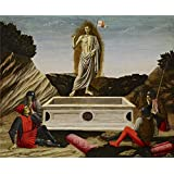 Canvas Prints Of Oil Painting 'Francesco Botticini (Formerly Attributed To Andrea Del Castagno) - The Resurrection, C. 1465-70' 20 x 24 inch / 51 x 62 cm , Polyster Canvas, Foyer, Gym And H decoration