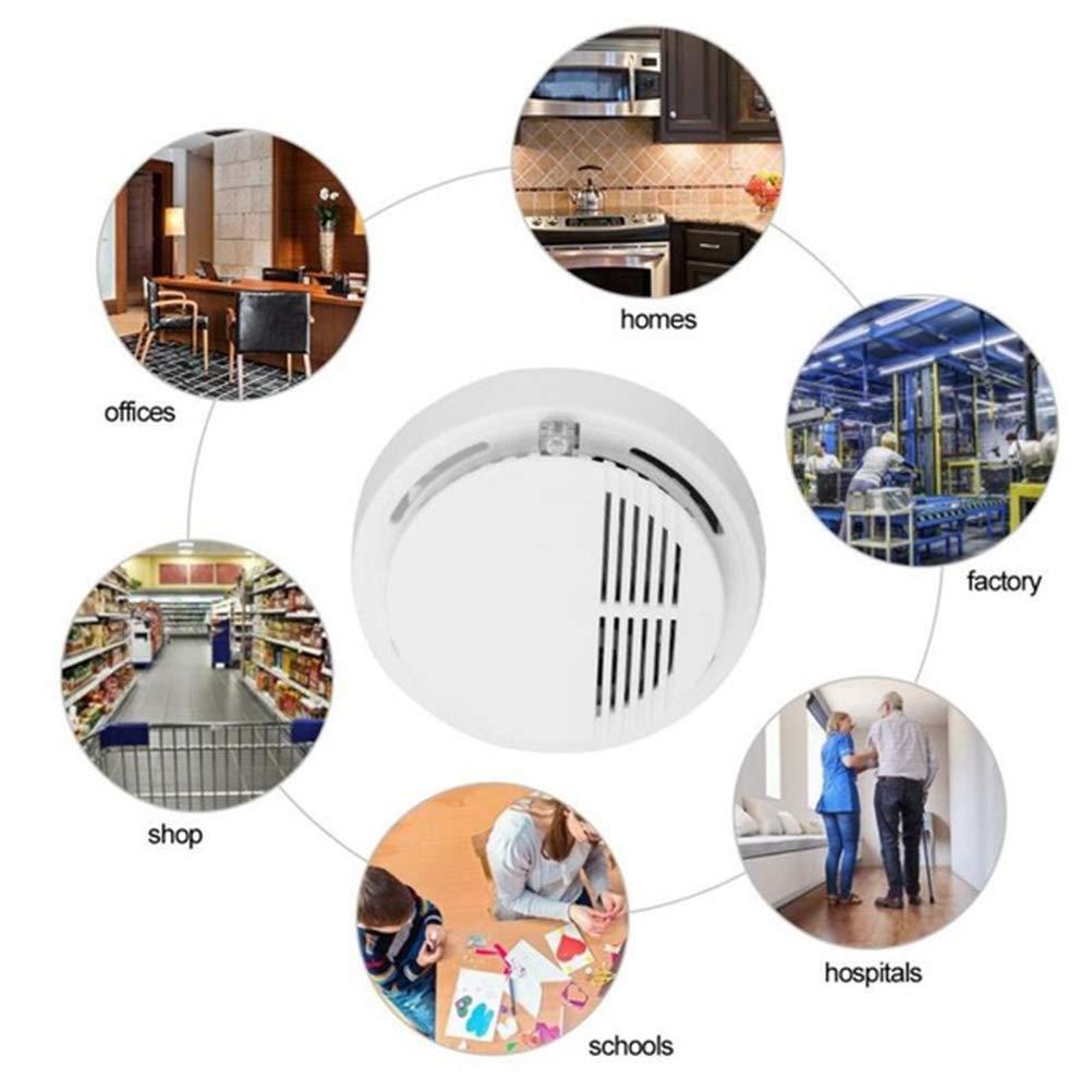 Sahgsa Detector de Incendios Detector de Humo probador para supermercados hogar Hotel Escuela