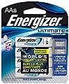 Energizer L91BP-8 Ultimate Lithium AA Batteries