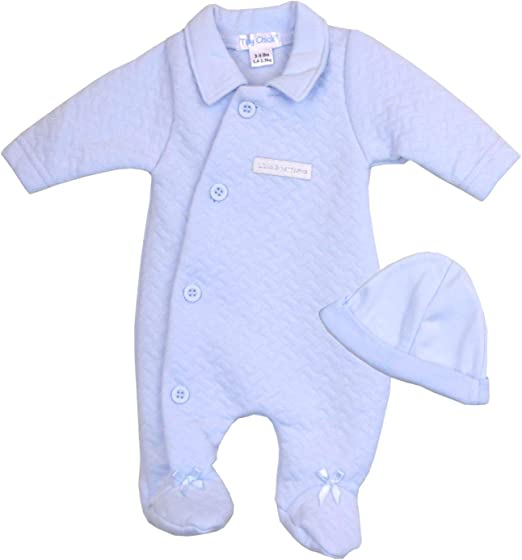 BabyPrem Premature Baby Clothes Boys Preemie Romper Playsuit Sleepsuit Hat Set