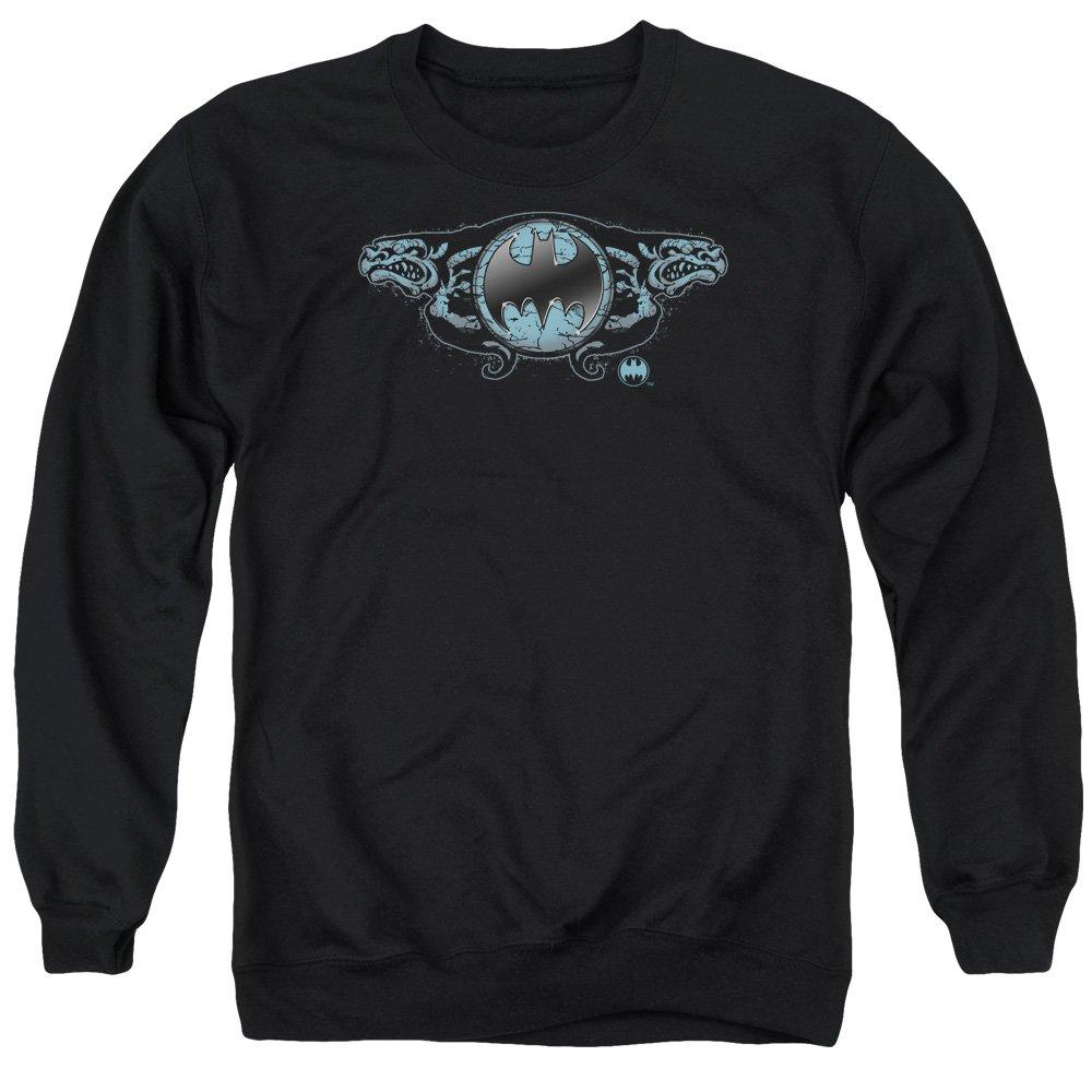 MMM Merchandising Batman Mens Two Gargoyles Logo Sweater