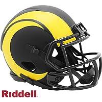 $34 » Los Angeles Rams - Eclipse Alternate Speed Riddell Mini Football Helmet - New in Riddell Box