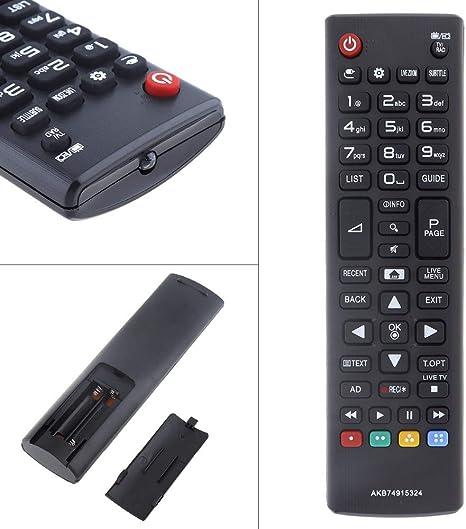 Calvas UniversaI - Mando a Distancia de Repuesto para televisor LG ...