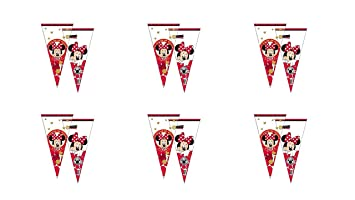 PEQUEFIESTA 00470; Pack 12 Conos Disney Minnie Mouse ...
