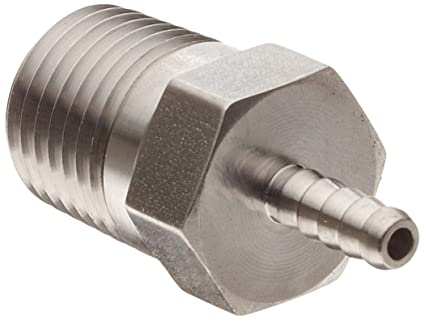 Parker 2-2 316 Stainless Steel Barb Connector To Male Pipe 1/8u0026quot;  sc 1 st  Amazon.com & Parker 2-2 316 Stainless Steel Barb Connector To Male Pipe 1/8
