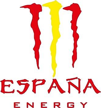 Custom Vinyl Pegatina España Energy (10,5x10cm): Amazon.es: Coche y moto