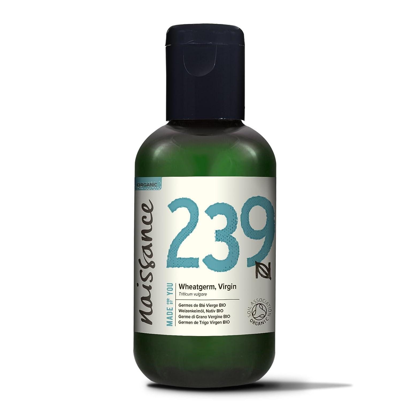 Naissance Olio di Germe di Grano Vergine Biologico - 100ml - Puro, Naturale, Certificato Biologico, Pressato a Freddo, Vegan e Non Raffinato, Senza OGM e Senza Esano