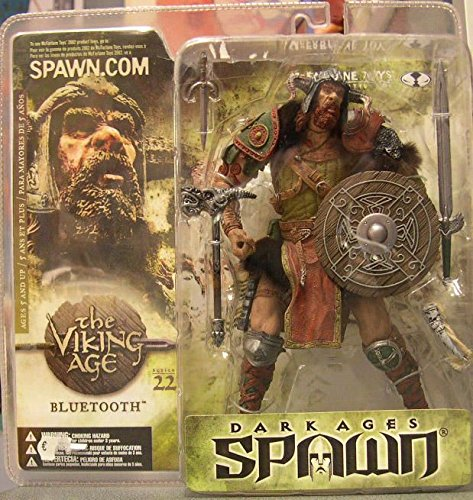 Spawn Viking Age - Spawn series 22 R3 BLUETOOTH Repaint Variant Action Figure RARE!