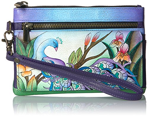 anna-by-anuschka-handpainted-leather-wristlet-organizer-wallet-midnight-peacock-wallet-mpk-midnight-