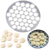 VALINK 37 Holes Dumpling Maker, Aluminum Alloy Dumpling Mold, Dough Press, Pelmeni Dumpling Pie Ravioli Mould Press Mould Maker Pastry Tool for DIY Cooking Baking