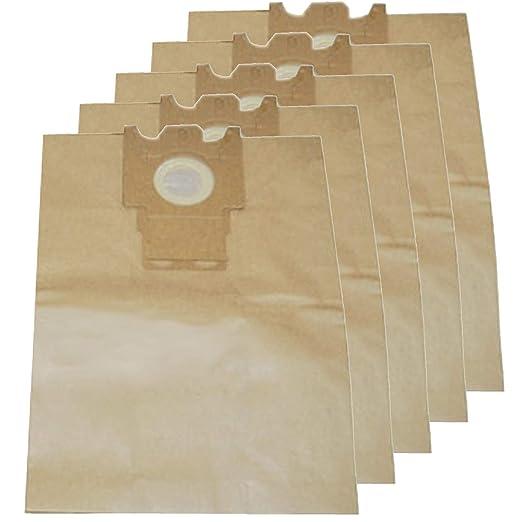 SPARES2GO Bolsas de papel para aspiradora Miele (Pack de 5 ...