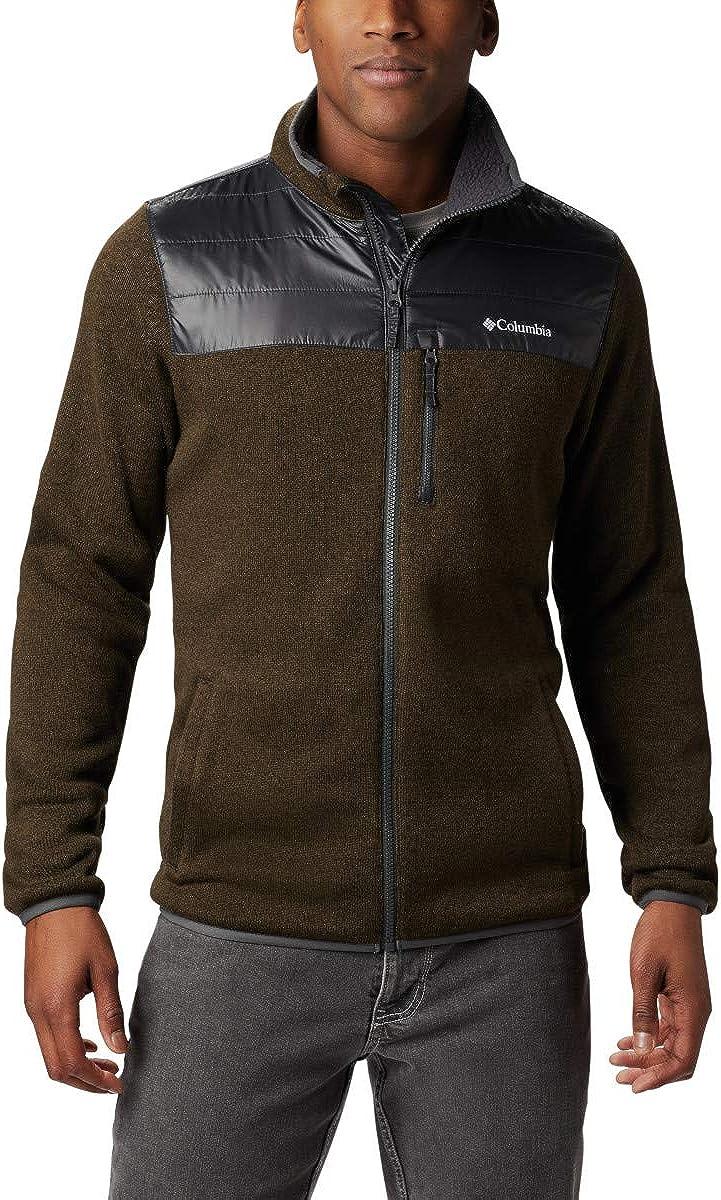 Columbia Men's Canyon Point Sweater Fleece Full Zip, Soft Fleece, Classic Fit