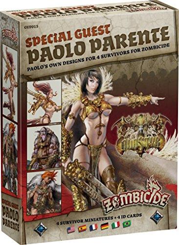 Zombicide: Black Plague Special Guest Paolo Parente Board Game