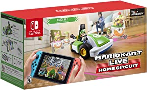 2020 Newest Nintendo - Mario Kart Live: Home Circuit - Luigi Set Edition - Family Christmas Holiday Gaming Bundle for Nintendo Switch, Nintendo Switch Lite - Green - iPuzzle USB Charging Cable