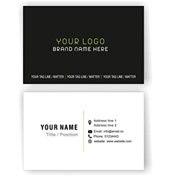 Design your own personalised professional business cards custom design your own personalised professional business cards custom employees visiting card front and back colourmoves