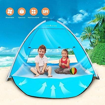 Tente abri plage soleil pluie vent brise-vent protection