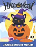 Halloween Coloring Book: A Collection of Coloring Pages with Cute Spooky Scary Things for kids and toddlers