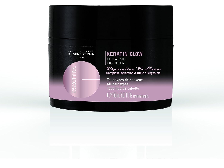 Eugene Perma Keratin Glow - máscara reparadora, profesional, básica, da brillo, 150 ml: Amazon.es: Salud y cuidado personal