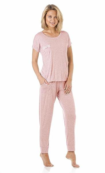 Mujer/mujer pijamas sin mangas para hombre Stripped pijama por la Marquise Sizes10 a 22