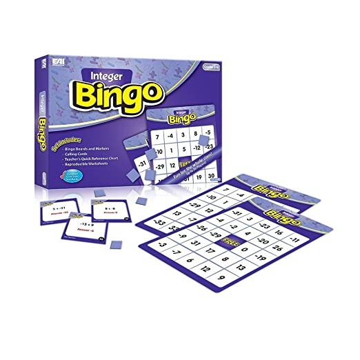 Amazon.com: EAI Education Integer Bingo: Grades 5-8: Toys & Games