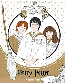 Harry Potter Colouring Book 1: Amazon.co.uk: Warner Brothers ...