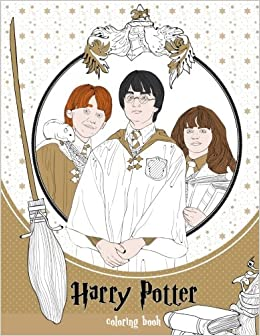 Amazon Com Harry Potter Coloring Book 9781985567931 Helen Clark