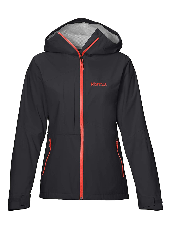 schwarz M Marmot Damen Wm's Evodry Torreys Jacket Hardshell Regenjacke, Wasserdicht, Winddicht & Atmungsaktiv