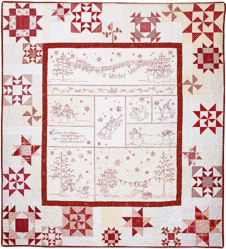 Crab Apple Hill PATTERN - Winter Wonderland - Item #408 (Hand Embroidery)