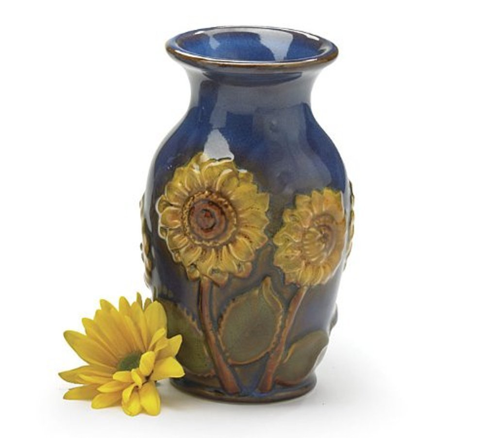 Amazon Beautiful Porcelain 6h Sunflower Vase Beautiful Floral