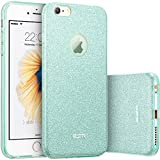 iPhone 6s Case, iPhone 6 Case, ESR Makeup Series Bling Glitter Back Cover Protective Bumper Slim Fit Case for 4.7 inches iPhone 6s (2015 Release)/ iPhone 6 (2014 Release) (Green)