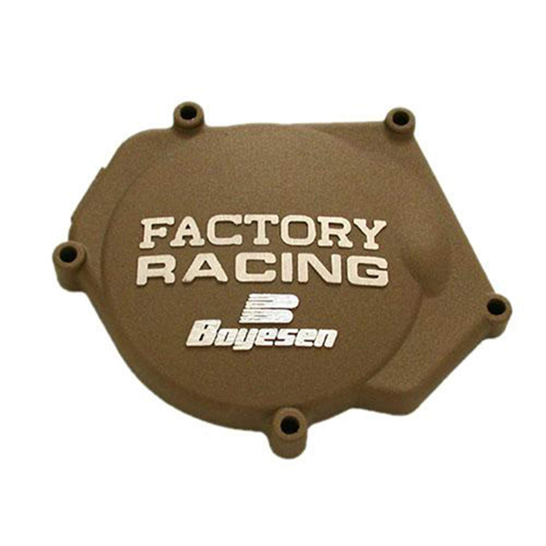 Factory Ignition Cover - Magnesium 2004 Yamaha YZ250 Offroad Motorcycle