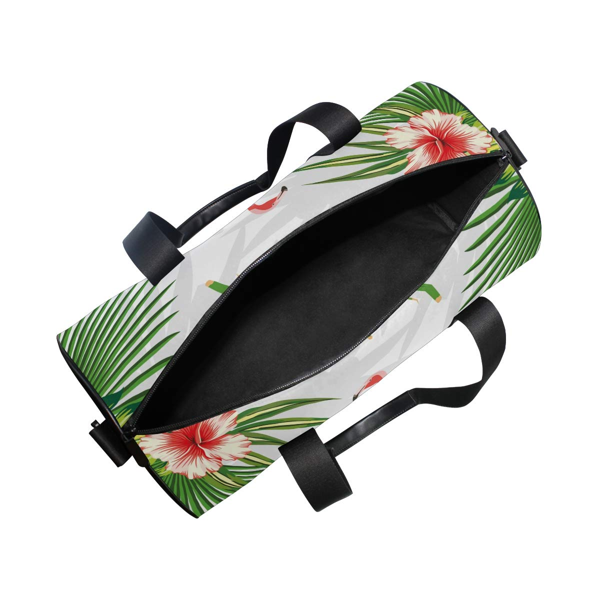 Flamingo Sports Gym Bag Travel Duffel Bag with Pockets Luggage & Travel Gear Shoulder Strap Fitness Bag by EVERUI (Image #5)