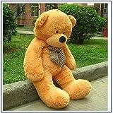 Giant 47'' Large Plush Stuffed Animal Teddy Bear Fluffy Cuddly Baby Toys 120CM (Light brown)