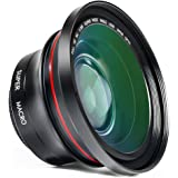 Camera Lens, Besteker 72MM 0.39x Photo Professional HD Wide Angle Lens with Macro Portion Camera Lenses Kit (FS-1)