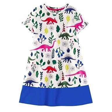 Amazon.com: qutefree bebé niña vestido Cumpleaños Infantil ...