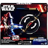 Star Wars Electronic Bladebuilders Battle-Spin Lightsaber Light Daggers