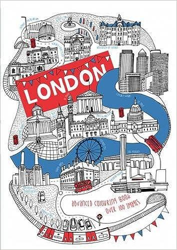 London Colouring Book Advanced Amazoncouk Salariya 9781911242390 Books